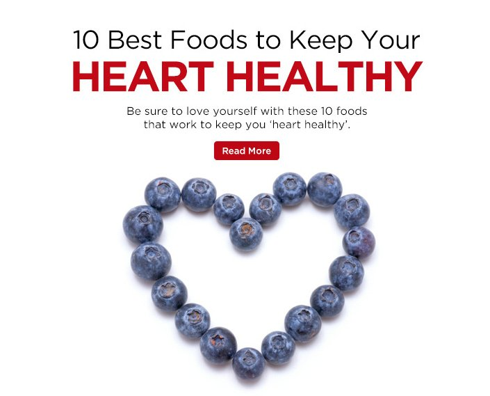 10 foods for a healthy heart