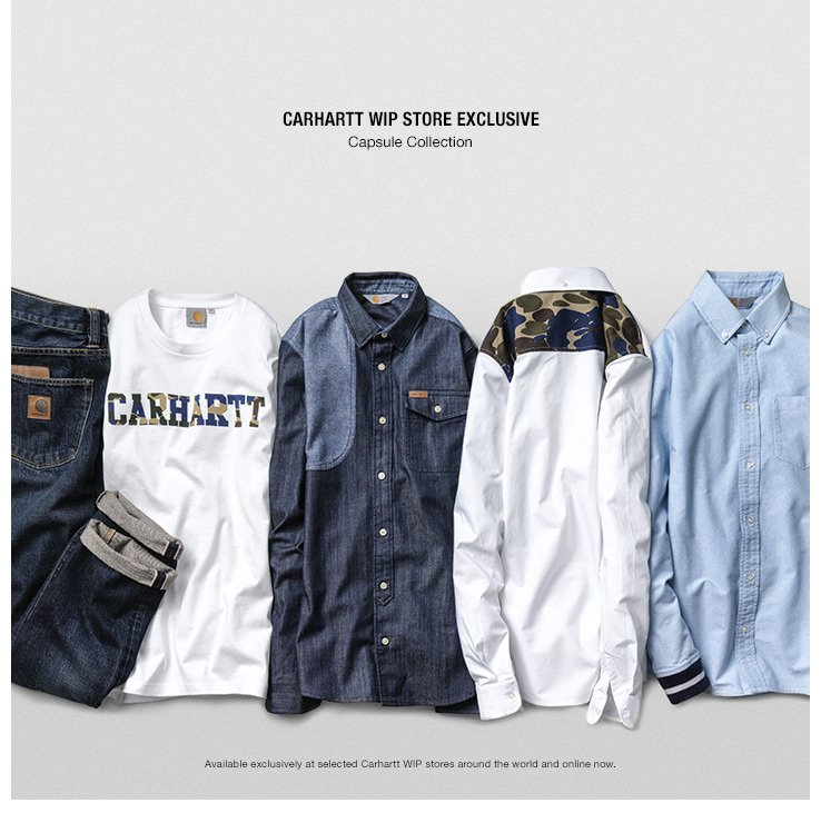 CARHARTT WIP STORE EXCLUSIVE - Capsule Collection