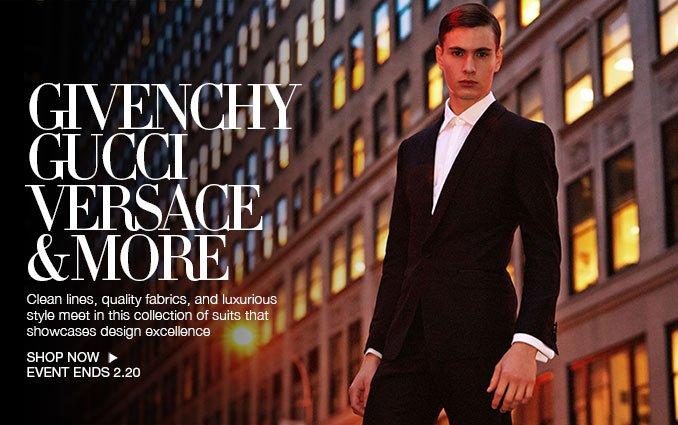 Shop Luxury Suits - Men.