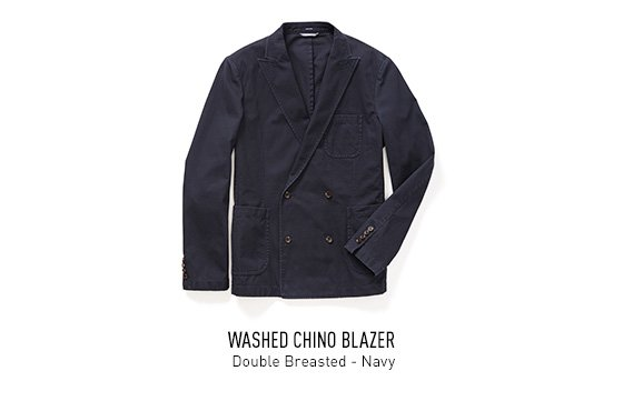Double Breasted - Navy