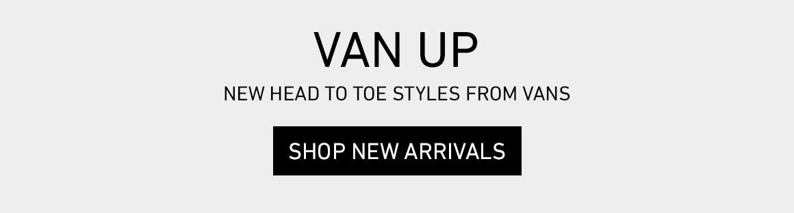 VAN UP: Shop New from Vans