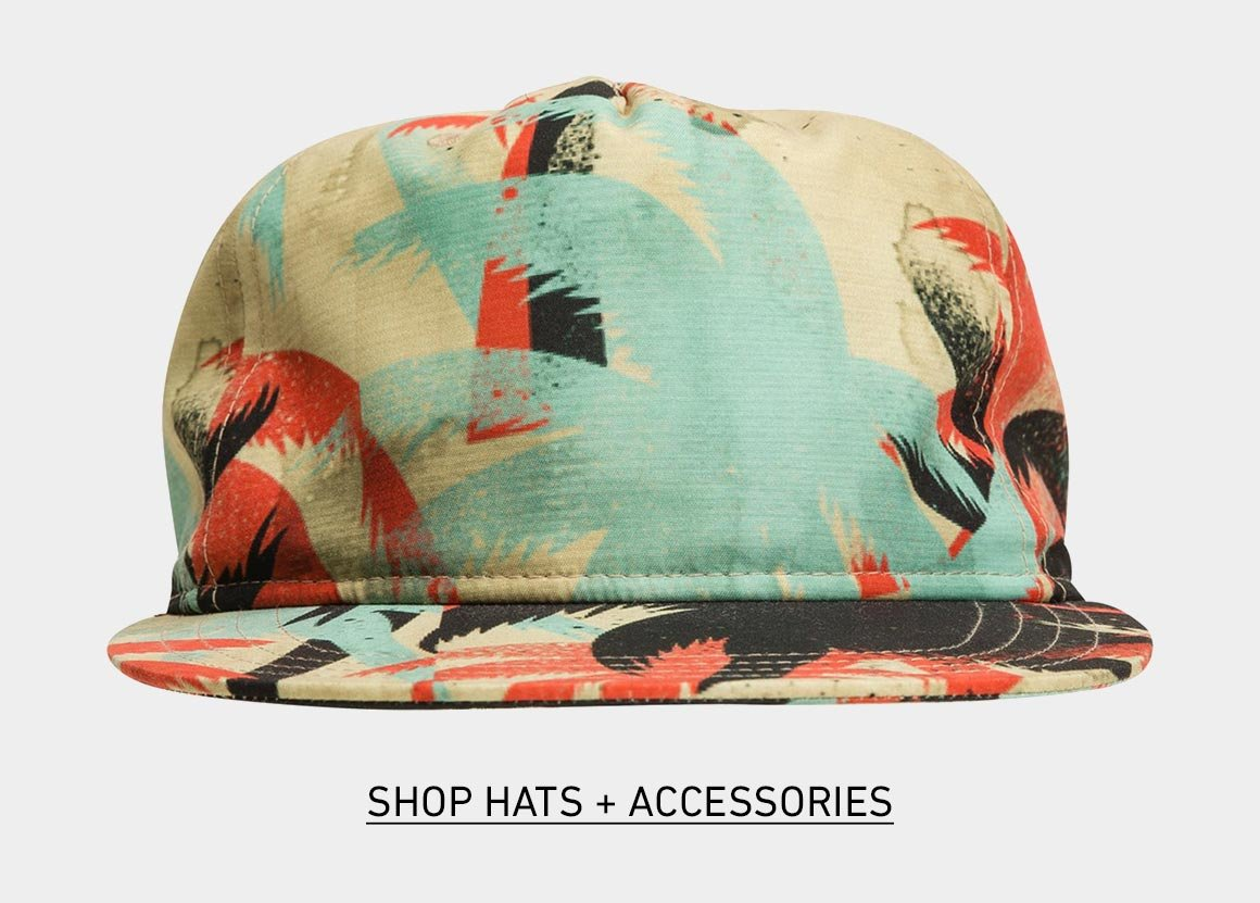 New Hats + Accessories form Vans