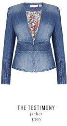 THE TESTIMONY jacket - $390