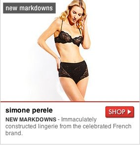 simone perele - NEW MARKDOWNS - Immaculately constructed lingerie from the celebrated French brand. SHOP