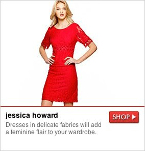 jessica howard - Dresses in delicate fabrics will add a feminine flair to your wardrobe. SHOP