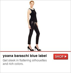 yoana baraschi blue label - Get sleek in flattering sihouettes and rich colors. SHOP