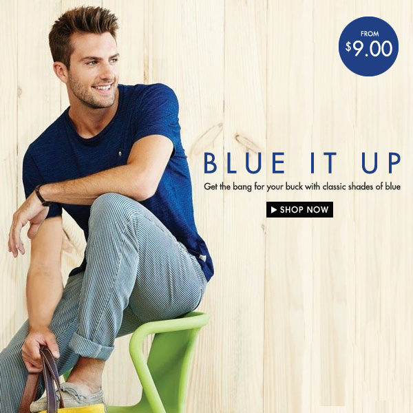 Blue It Up. From $9.00