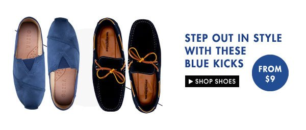 Shop Blue Shoes