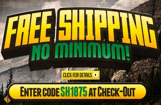 Weekend FREE Standard Shipping - No Minimum Order!... Please Enter Coupon Code SH1875 at Checkout...