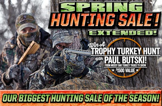 Spring Hunting Sale... Our biggest Hunting Sale of the Season - Extended!