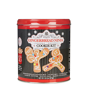 Gingerbread Ninja Cookie Kit