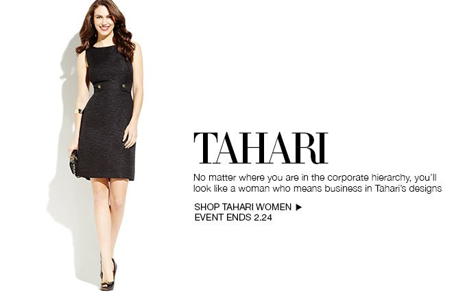 Shop Tahari - Ladies.