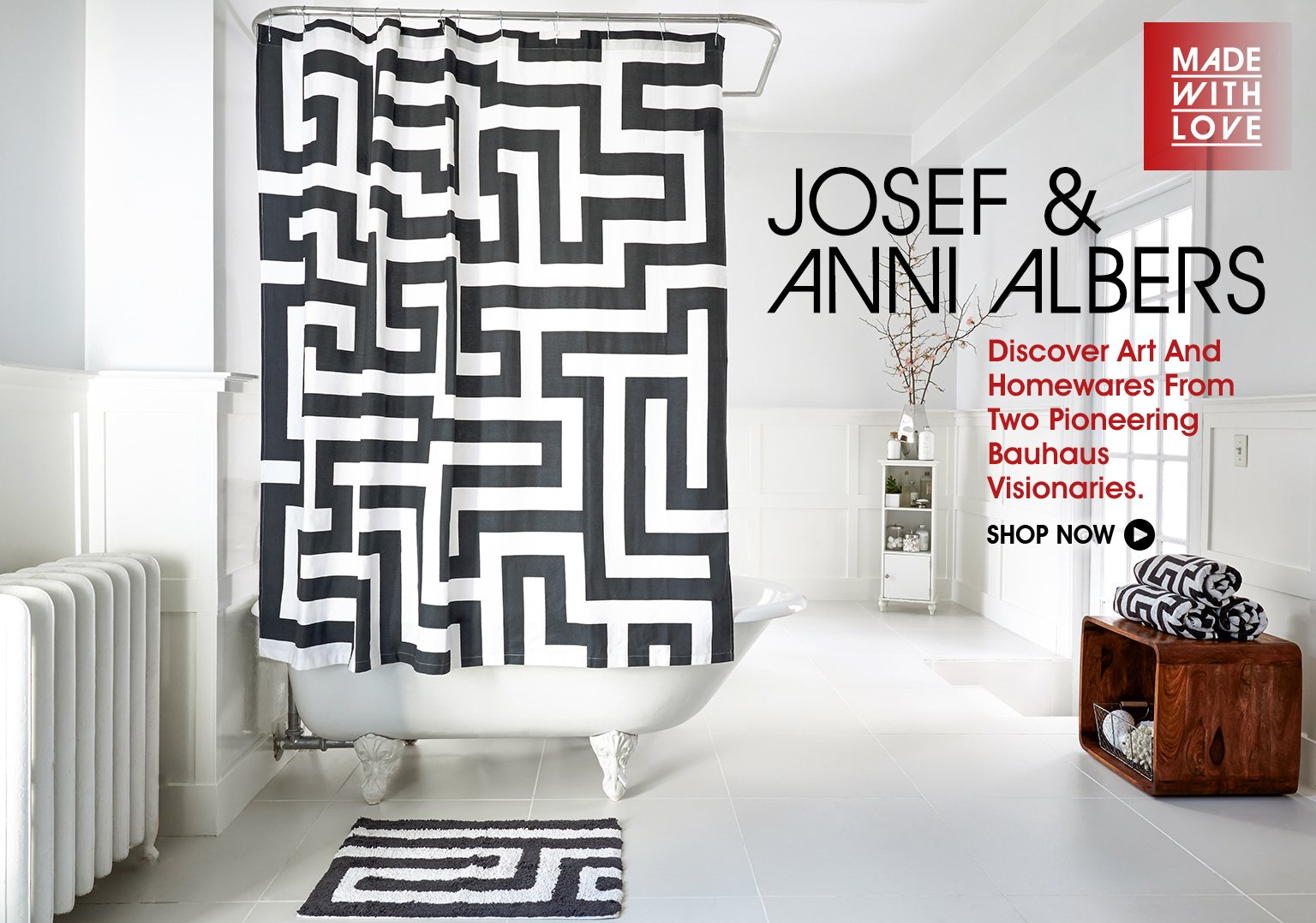 Discover Art and Homewares From Josef & Anni Albers.