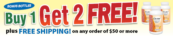 Buy 1 Get 2 FREE! Plus FREE SHIPPING on any order of $50 or more