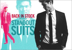 Shop RESTOCKED: Exclusive Standout Suits
