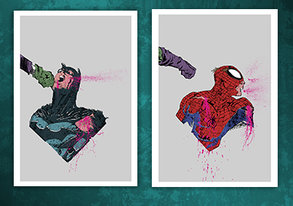 Shop Buy 2 Get 1 Free: Superhero Posters