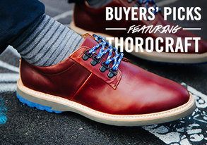 Shop Buyers' Picks Footwear ft Thorocraft