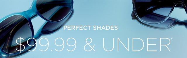 $99.99 & Under Sunglasses