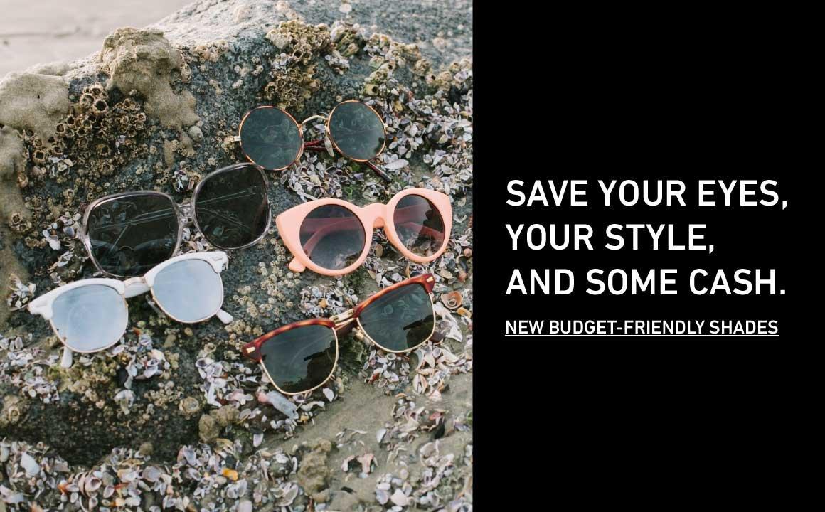 Shop New Budget Sunglasses