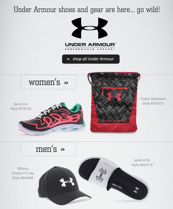 Under Armour Is HERE!
