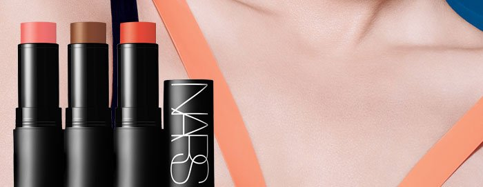 Vibrant pops and sensual sun-kissed modern matte hues for lips and cheeks.