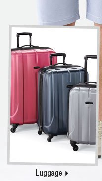 It's the perfect time to buy luggage