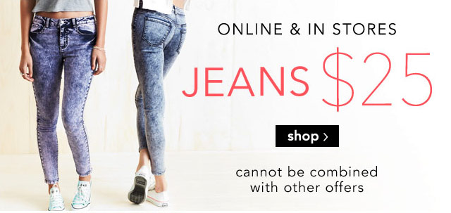 JEANS $25