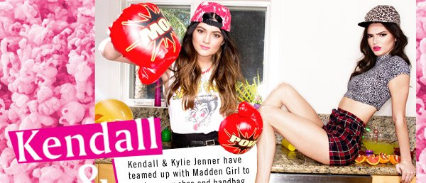 Kendall & Kylie for Madden Girl! Shop Now