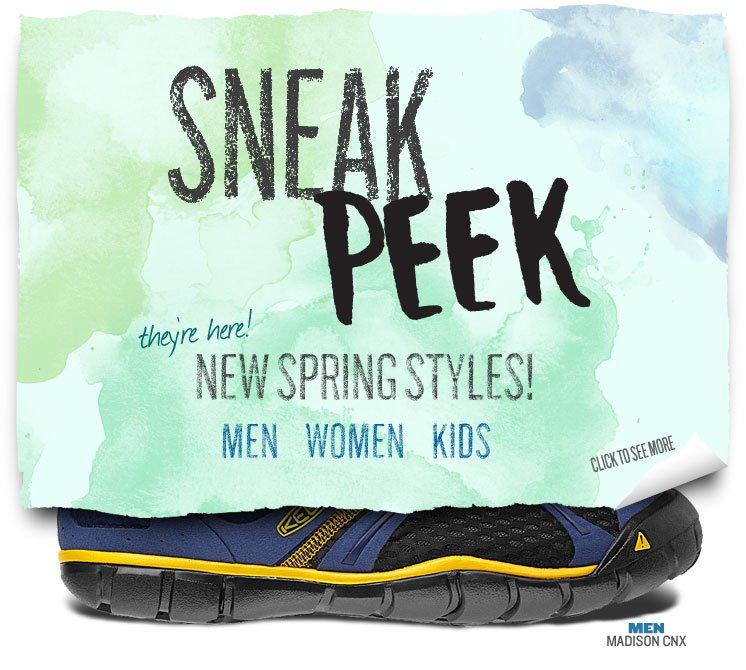 Sneak Peek at New Spring Styles!