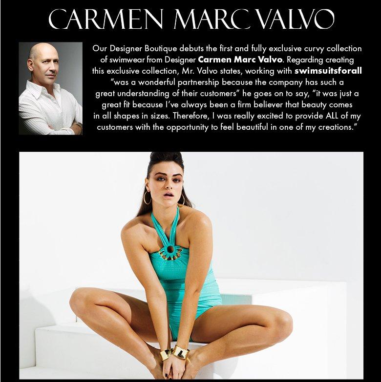 Carmen Marc Valvo swimwear