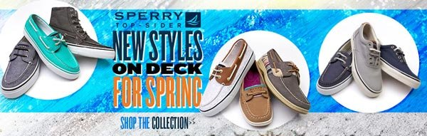Shop New Spring Sperry Styles at Journeys Now!