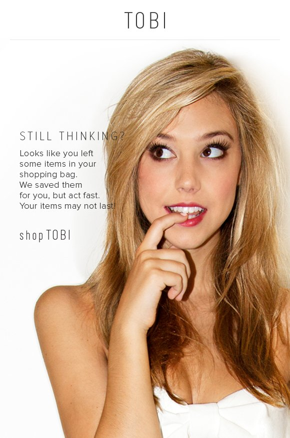 Looks like you left some items in your shopping bag. We saved them for you, but act fast. Your items may not last!