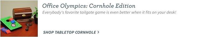 Table top cornhole
