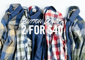 Shop 2 for $40: Best-Selling Button-Downs