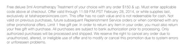*Must enter code at checkout, expires 11:59 pm PST 2/28/14