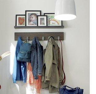 Leigh Wall Coat Rack