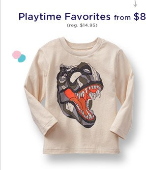 Playtime Favorites from $8