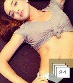 Nothing Comes Between Miranda Kerr and Her Calvins