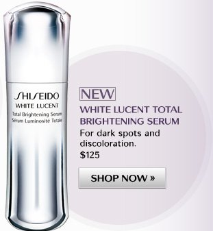 NEW WHITE LUCENT TOTAL BRIGHTENING SERUM | SHOP NOW