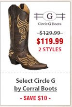 Select Circle G by Corral Boots