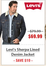 Levis Sherpa Lined Denim Jacket