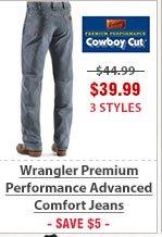 Wrangler Premium Performance Advanced Comfort Jeans