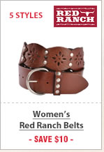 Select Red Ranch Belts
