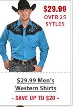 29 99 Mens Western Shirts