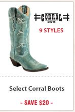 Select Corral Boots