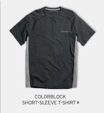 Shop Men's Lookout Colorblock Short-Sleeve T-Shirt