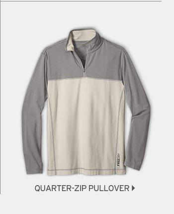 Shop Men's Lookout Quarter-Zip Pullover