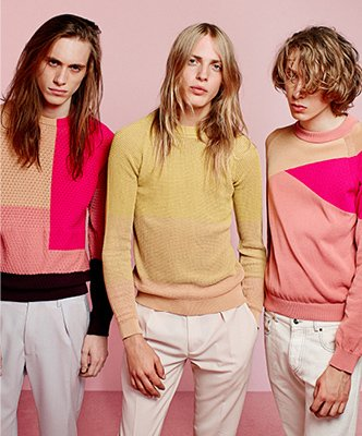 MEN'S SPRING/SUMMER 14 KNITWEAR