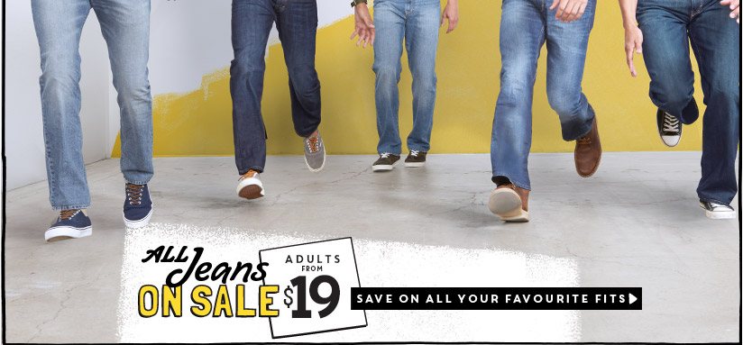 ALL Jeans ON SALE | ADULTS FROM $19 | SAVE ON ALL HER FAVOURITE FITS