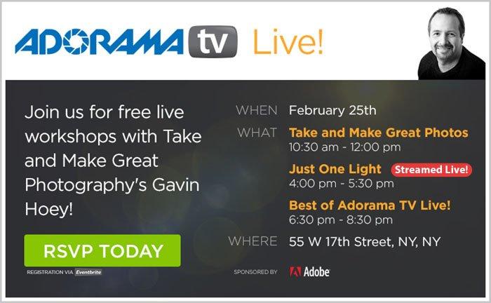 AdoramaTV Live Presents Gavin Hoey!